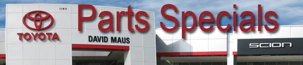 toyota parts special discounts oem parts oviedo sanford fl. Black Bedroom Furniture Sets. Home Design Ideas