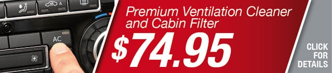 Cabin Air Filter Coupon, Orlando