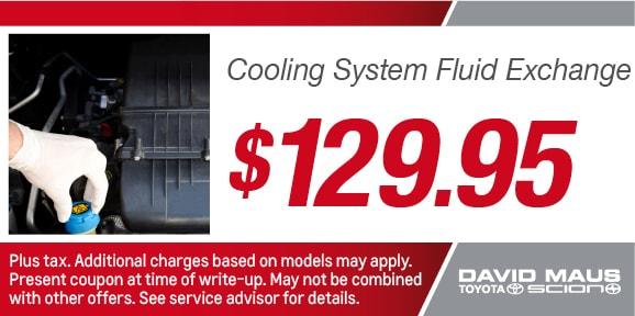 Coolant flush coupons