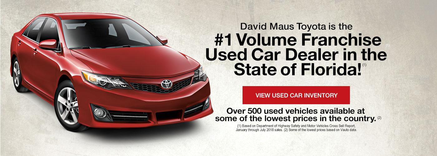 New Used Toyota Cars Toyota Dealer Near Deland Fl