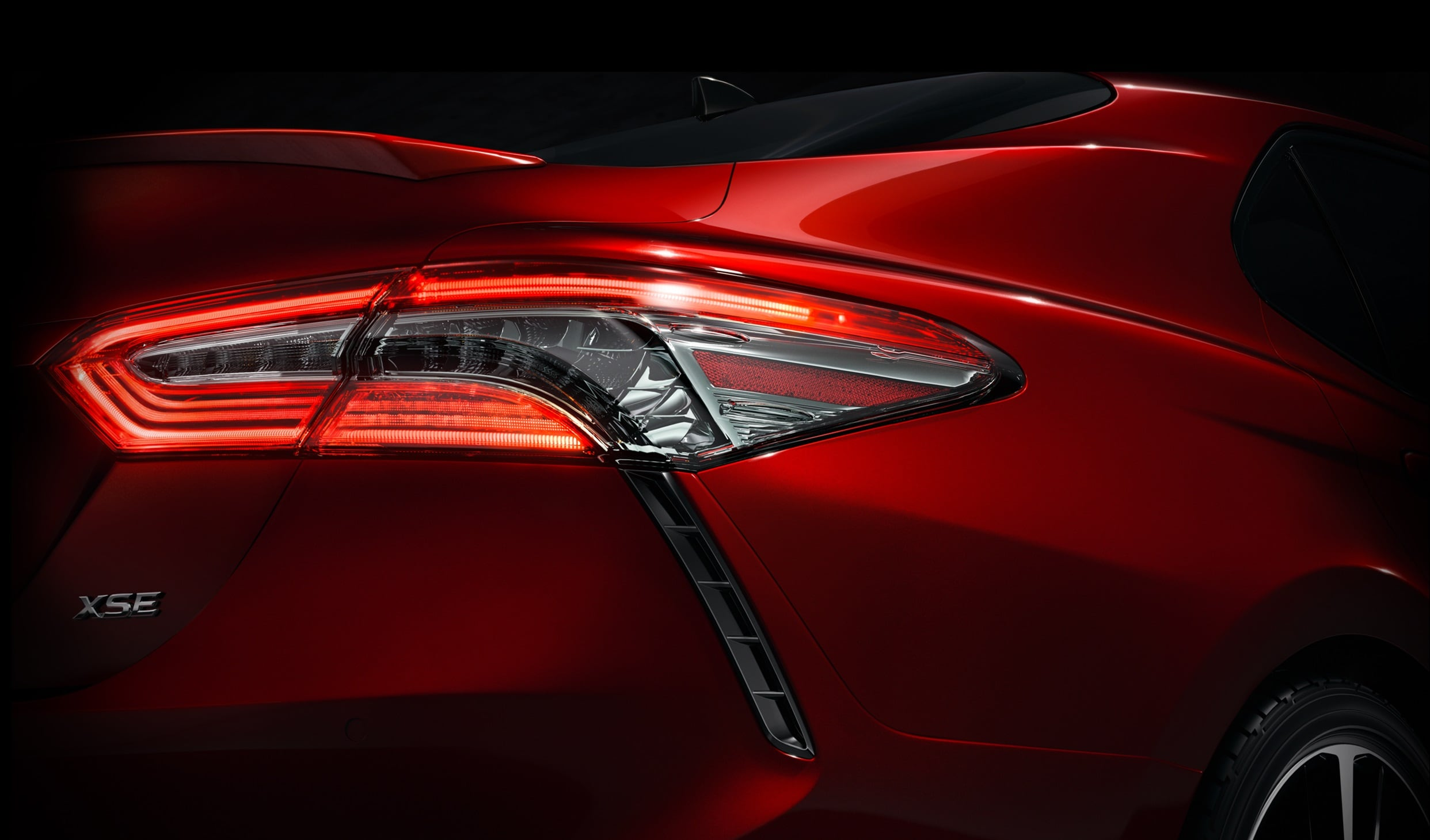 2018 Toyota Camry taillight