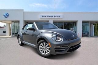New 2019 Volkswagen Beetle 2.0T S Convertible for Sale in Fort Walton Beach at Volkswagen Fort Walton Beach