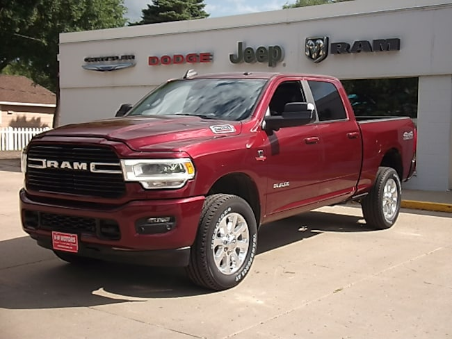 New 2019 Ram 2500 BIG HORN CREW CAB 4X4 6'4 BOX Crew Cab for sale in Cooperstown, ND at V-W Motors, Inc.