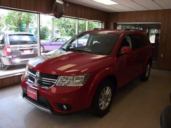 New 2017 Dodge Journey SXT SUV for sale in Cooperstown, ND at V-W Motors, Inc.