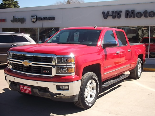 Used 2014 Chevrolet Silverado 1500 LTZ Truck Crew Cab for sale in Cooperstown, ND