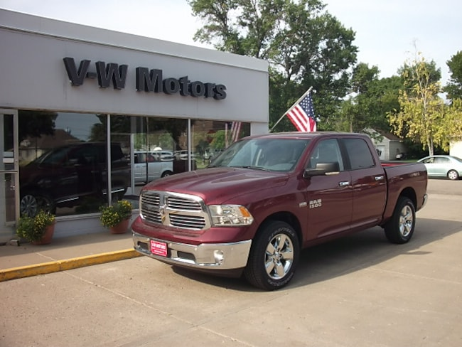 New 2018 Ram 1500 BIG HORN CREW CAB 4X4 5'7 BOX Crew Cab for sale in Cooperstown, ND at V-W Motors, Inc.