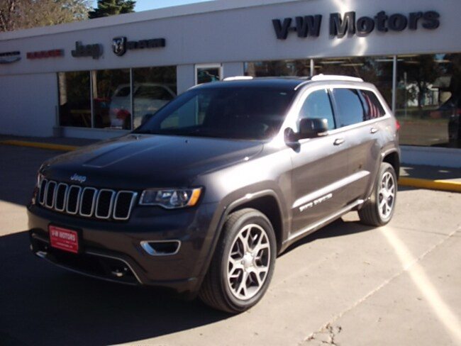 Used 2018 Jeep Grand Cherokee Limited 4x4 SUV for sale in Cooperstown, ND