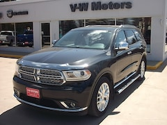 Used 2015 Dodge Durango Citadel SUV 3677A for sale in Cooperstown, ND at V-W Motors, Inc.