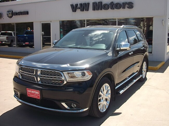 Used 2015 Dodge Durango Citadel SUV for sale in Cooperstown, ND