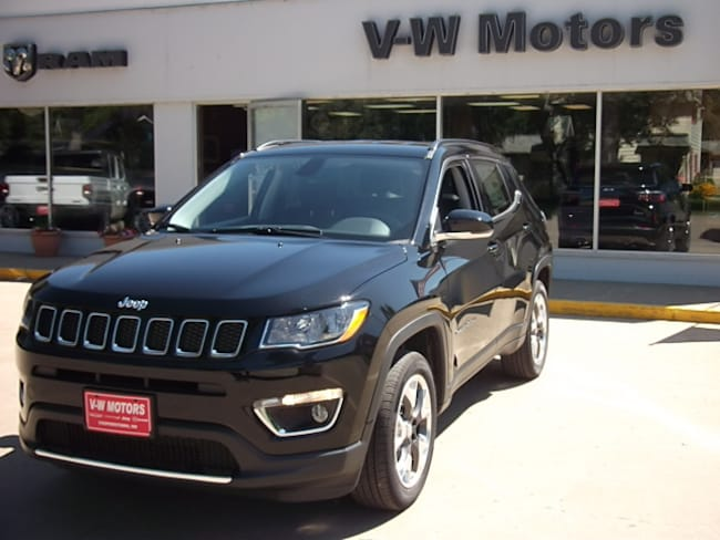 New 2019 Jeep Compass LIMITED 4X4 Sport Utility for sale in Cooperstown, ND at V-W Motors, Inc.