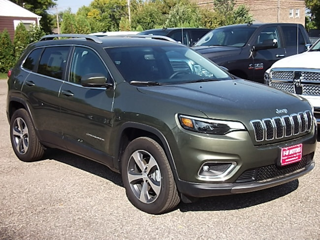 New 2019 Jeep Cherokee LIMITED 4X4 Sport Utility for sale in Cooperstown, ND at V-W Motors, Inc.