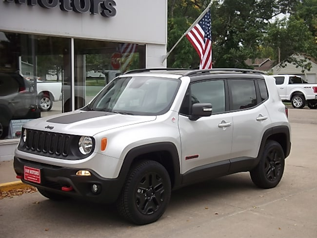 New 2018 Jeep Renegade TRAILHAWK 4X4 Sport Utility for sale in Cooperstown, ND at V-W Motors, Inc.