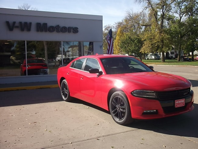 New 2019 Dodge Charger SXT AWD Sedan for sale in Cooperstown, ND at V-W Motors, Inc.