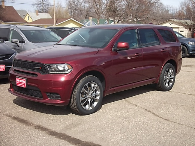 New 2019 Dodge Durango GT AWD Sport Utility for sale in Cooperstown, ND at V-W Motors, Inc.
