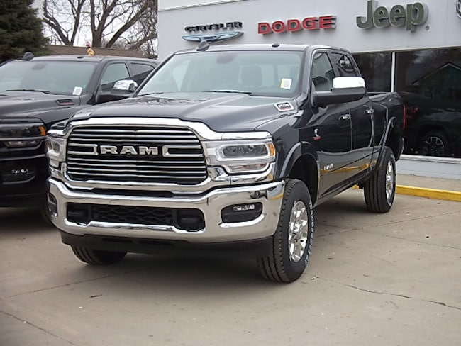 New 2019 Ram 2500 LARAMIE CREW CAB 4X4 6'4 BOX Crew Cab for sale in Cooperstown, ND at V-W Motors, Inc.