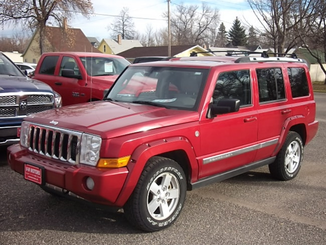 Used 2006 Jeep Commander Limited SUV for sale in Cooperstown, ND