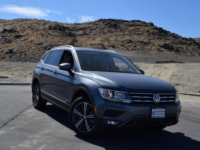 New 2018 Volkswagen Tiguan 2.0T SEL SUV in Cathedral City