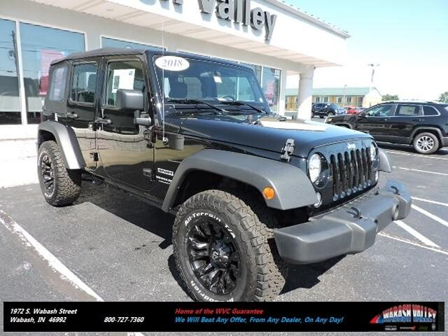 2018 Jeep Wrangler Unlimited WRANGLER JK UNLIMITED SPORT 4X4 Sport Utility