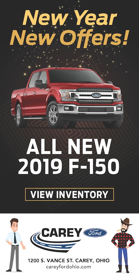 New Year New Offers F150