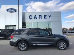 New 2020 Ford Explorer Limited SUV EcoBoost I4 GTDi DOHC Turbocharged VCT AWD for sale/lease in Carey, OH