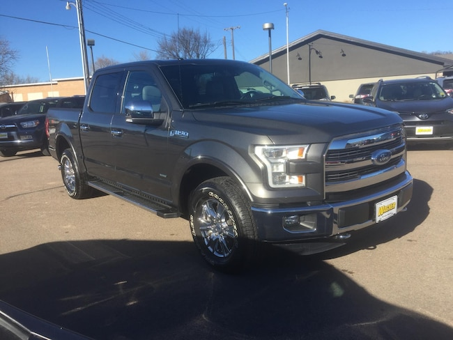 2015 Ford F-150 Lariat SuperCrew 4WD Truck