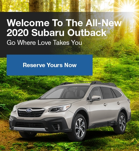 All New 2020 Subaru Outback