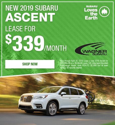 New 2019 Subaru Ascent