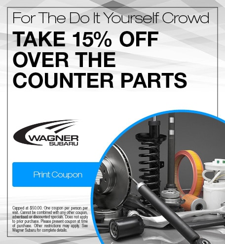 15% Off Over the Counter Parts