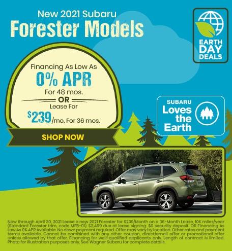 New 2021 Subaru Forester Models
