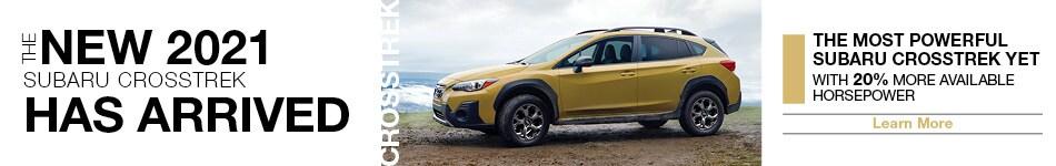2021 Subaru Crosstrek Has Arrived