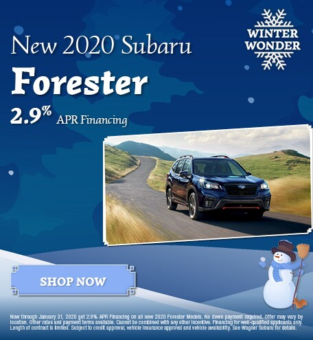 New 2020 Subaru Forester - January Special