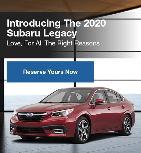 All New 2020 Subaru Legacy