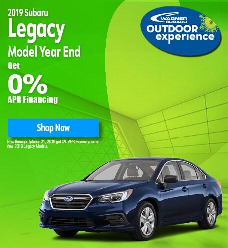 New 2019 Subaru Legacy - October Special
