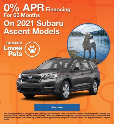 2021 Subaru Ascent October Special