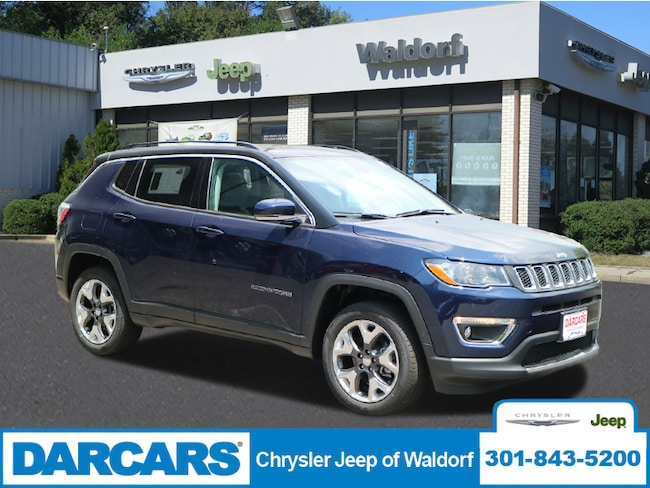 New 2018 Jeep Compass LIMITED 4X4 Sport Utility Waldorf, MD