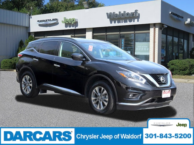 Used 2018 Nissan Murano 4DR FWD SV SUV Waldorf, MD