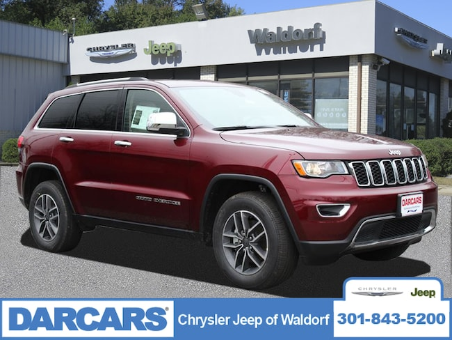 New 2019 Jeep Grand Cherokee LIMITED 4X4 Sport Utility Waldorf, MD