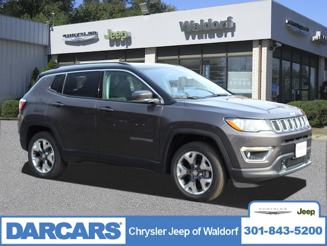 New 2019 Jeep Compass LIMITED 4X4 Sport Utility Waldorf, MD
