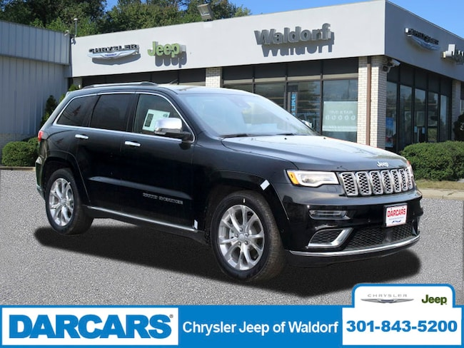 New 2019 Jeep Grand Cherokee SUMMIT 4X4 Sport Utility Waldorf, MD