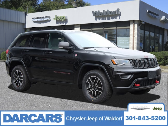 New 2019 Jeep Grand Cherokee TRAILHAWK 4X4 Sport Utility Waldorf, MD