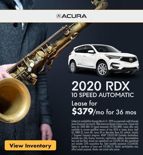 2020 RDX 10 Speed Automatic