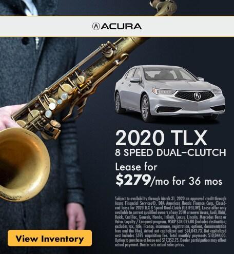 2020 TLX 8 Speed Dual-Clutch