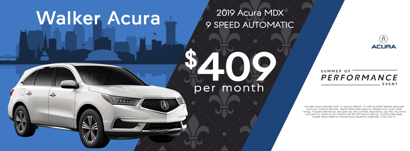 Walker Acura New Acura Dealership In Metairie La
