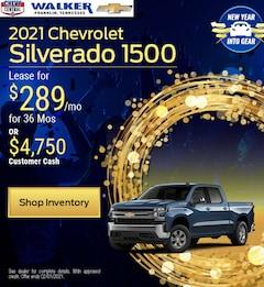 2021 Chevrolet Silverado 1500 - Jan