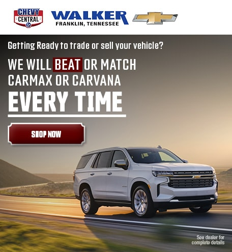 Walker Chevrolet Chevrolet Dealer In Franklin Tn