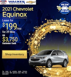 2021 Chevrolet Equinox - Jan