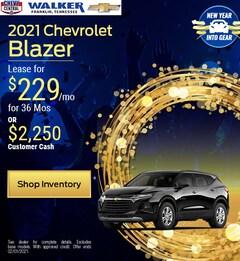 2021 Chevrolet Blazer - Jan