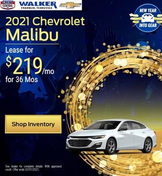2021 Chevrolet Malibu - Jan