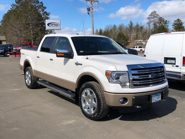 2014 Ford F-150 King Ranch Supercrew for sale in Walker, MN