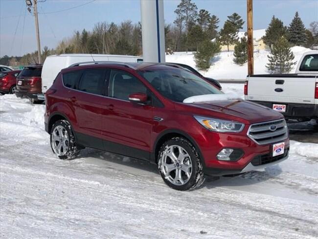 2019 Ford Escape Titanium SUV for sale in Walker, MN